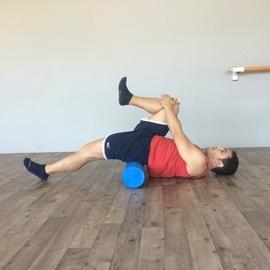 Estiramiento Flexores De Cadera Con Foam Roller, paso 8