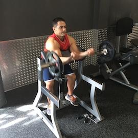 Curl De Biceps Con Barra, paso 4