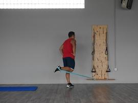 Extensión De Cadera + Flexión De Rodilla Con Goma, paso 13