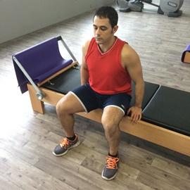 Estiramiento Aductores De Cadera Sentado, paso 1