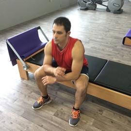 Estiramiento Aductores De Cadera Sentado, paso 4